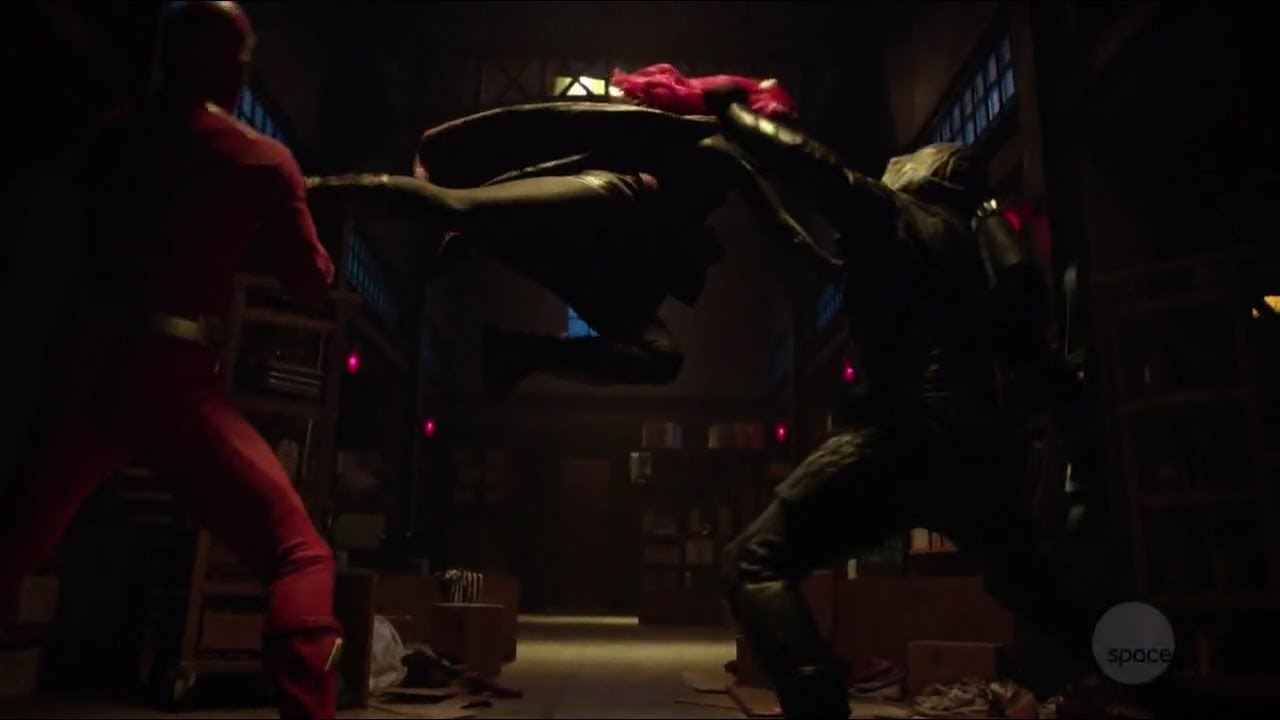 arrow season 7 episode 9/the flash an green arrow hallucinating their worst  enemy
