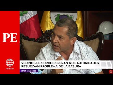 Primera Edición: Continúa Problema Por Falta De Recojo De Basura En Surco