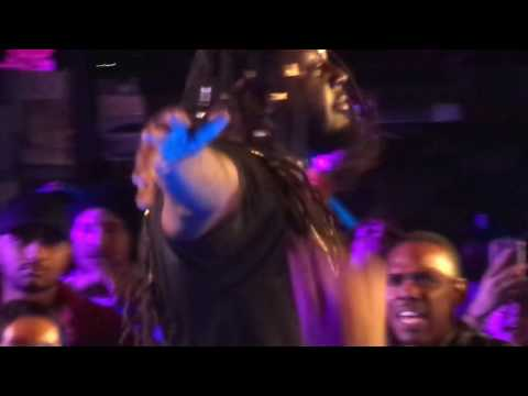 "T-Pain Does ""Welcome to My Hood"" / ""All I Do Is Win"" Mashup at ADD Spotify Event in LA"