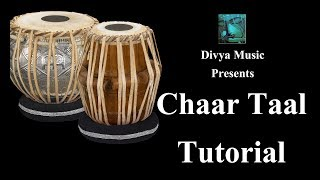 Academy Of Indian Music Online Tabla Teaching Lessons Instructor Learn CHAAR TAAL On Tabla Video