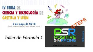 Teaching STEM through sim racing. Burgos 2018.