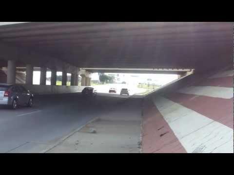 2012 Genesis 5.0 R Spec Electronic Exhaust Cutout Bridge Test, Corners Burnout