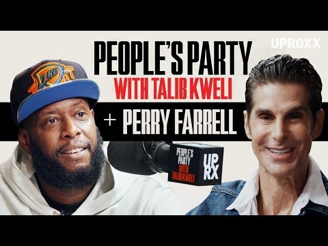 Talib Kweli And Perry Farrell Talk Ice-T's Legacy, Lollapalooza, & Protest Songs I People's Party
