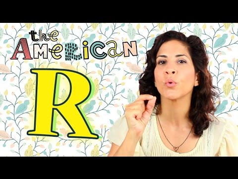 Make The American R! | American English Pronunciation | Consonants