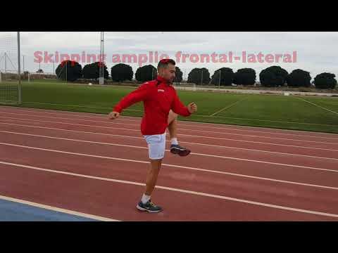 Video de Atletismo  Ejercicios Progresivos