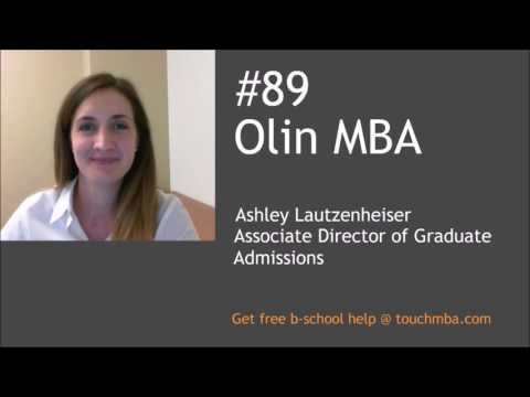 Washington University St. Louis Olin MBA Admissions Interview with Ashley Lautzenheiser - Touch MBA