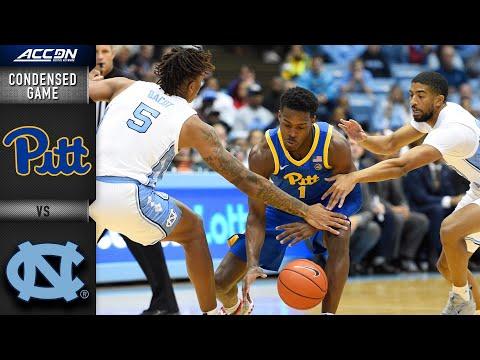 North Carolina Vs. Pittsburgh Condensed Game   ACC Men's Basketball 2019-20