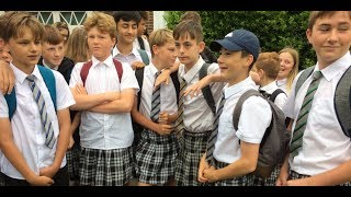 ISCA Academy: Teenage Boys Wear Skirts to School In Protest