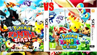 Pokémon Rumble World VS Pokémon Rumble Blast: Which is better? (3DS)