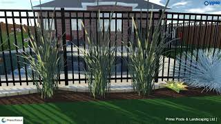 3D Swimming Pool Design by Prime Pools