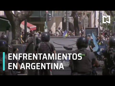 Enfrentamientos durante velorio de Maradona - Por las Mañanas