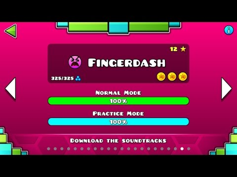 Fingerdash By RobTop   Geometry Dash