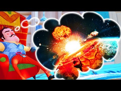 BLOWING UP THE ENTIRE WORLD IN HELLO NEIGHBORS DREAM! | Escape Your Dreams! (Suicide Guy)