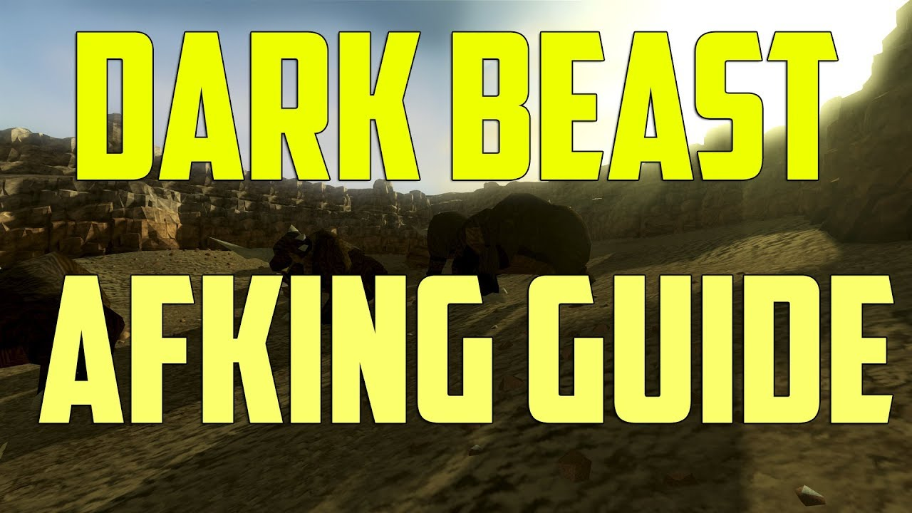 Runescape 3 - Dark Beasts AFK guide 2018 | Ranged & Magic