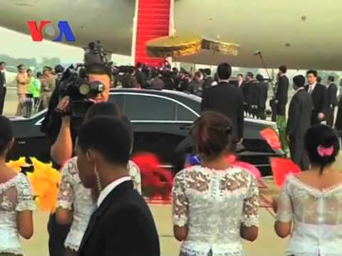 Chinese President in Cambodia as Summit Opens (Cambodia news in Khmer)