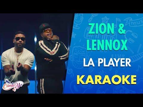 Zion & Lennox - La Player - Bandolera (Karaoke) | CantoYo