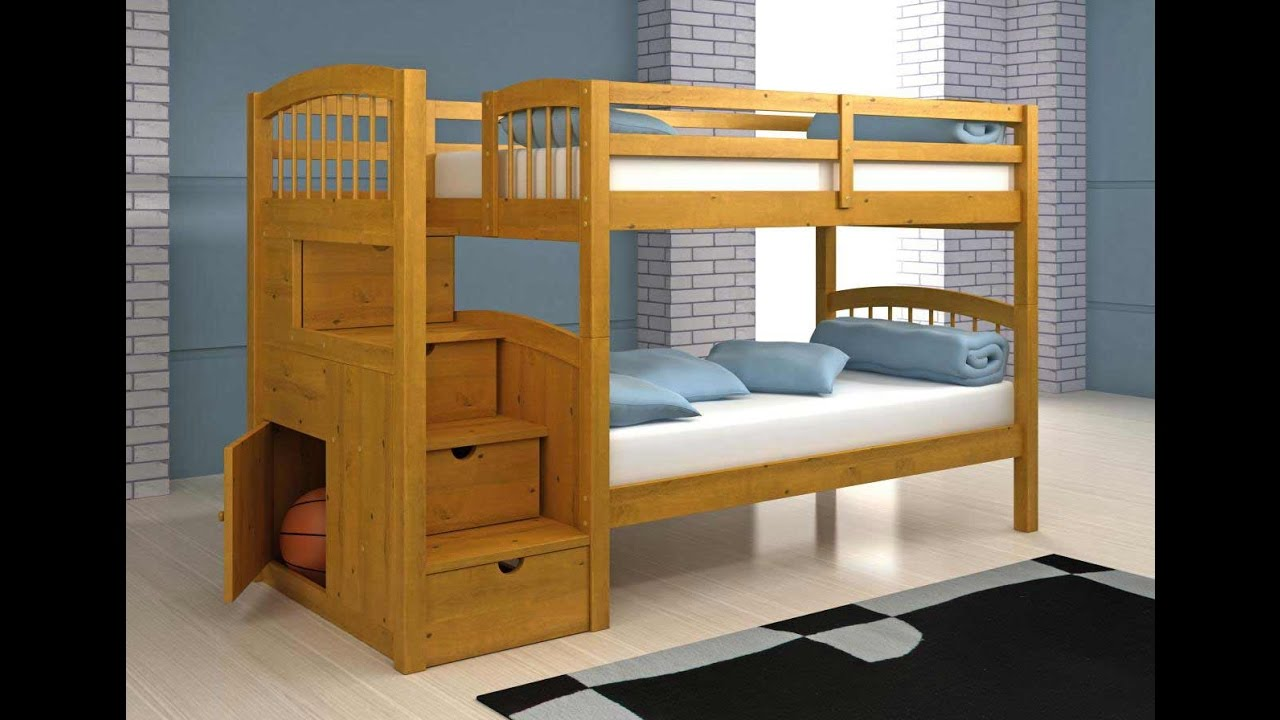 Loft bed plans bunk bed plans step by step how to build Loft bed plans