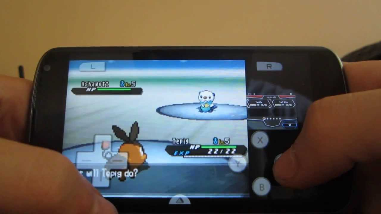 pokemon black 2 nds emulator android