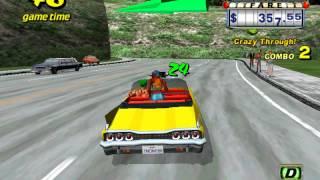 Crazy Taxi ( 1999 - 2000 ) ทดลองเล่นเกมส์ - ( Part 18 / 22 )
