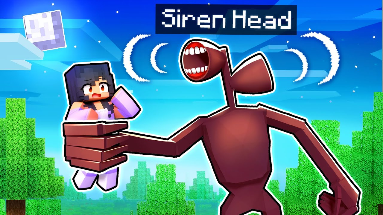 Download An ENDLESS NIGHT With SIREN HEAD In Minecraft!
