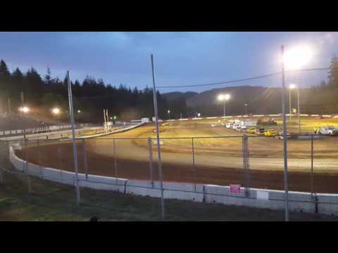 Late model main tom parry 6/4/16 coos bay speedway