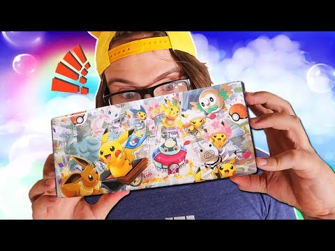 Opening a Limited Edition Pikachu DX Special Box