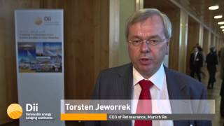 Dii Conference: Torsten Jeworrek, CEO of Reinsurance, Munich Re (English)