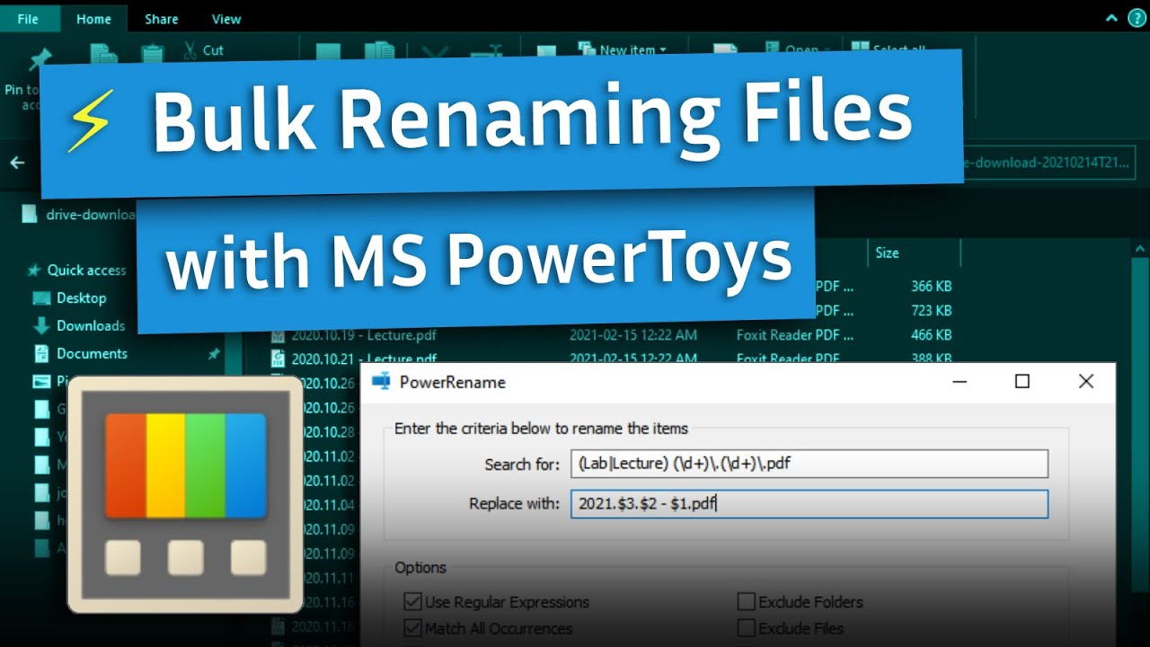 Bulk Rename Files Easily on Windows [Full Tutorial]