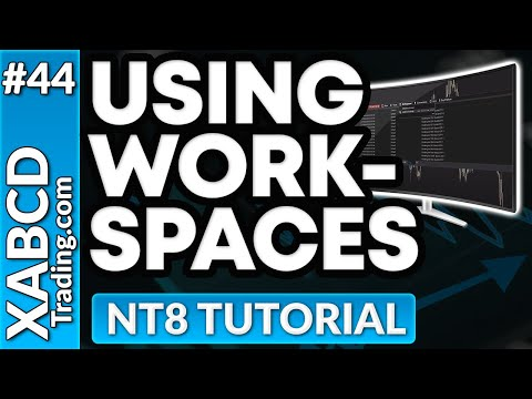 Understanding Workspaces NinjaTrader 8