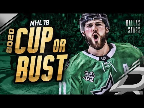 DALLAS STARS REBUILD! 2020 CUP OR BUST (NHL 18 Franchise Mode)