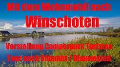 Mit dem Wohnmobil nach Winschoten, Vorstellung Stellplatz Turfstee, Blauwestad, Niederlande, Holland