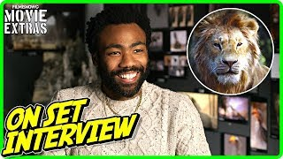 """THE LION KING   Donald Glover """"Simba"""" On-studio Interview"""