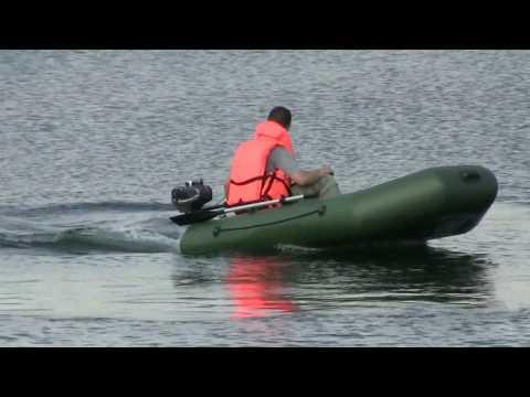 Мотор уводит под лодку! Поможет ли усиление навесного транца решить проблему?