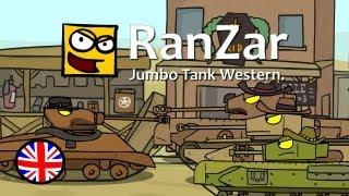 Tanktoon: Jumbo Tank Western. RanZar.