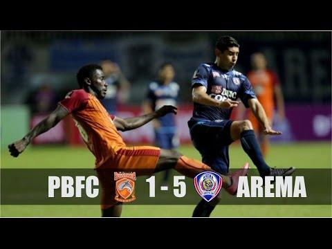 Cuplikan Gol & Highlight PBFC 1-5 Arema | Final Piala Presiden 2017