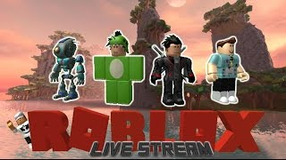 Come Play Roblox - Live Stream: MM2, Epic Minigames, Ultimate Driving, Prison Life, Natural Disaster