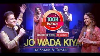 Jo Wada Kiya Woh Nibhana Padega   Samir & Dipalee   Live Concert for Akshay Patra Florida Chapter
