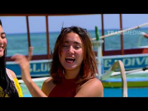 CELEBRITY ON VACATION - Main Air Di Lombok 14/10/17 Part 3