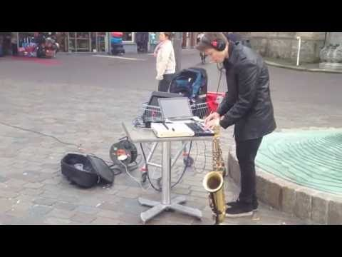 21 Outside - Street live session in Zwolle (Holland,Netherlands)