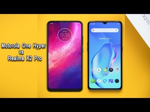 Motorola One Hyper vs Realme X2 Pro full Review & compation