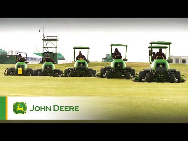 John Deere Golf: Trusted by the best courses on earth