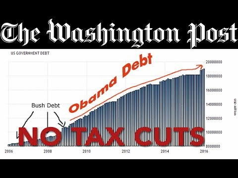 WaPo Discovers National Debt, Uses It To Stop Tax Cuts