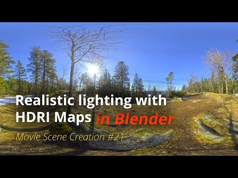 MSC #21 - Realistic Lighting With HDRI Maps (Blender Tutorial EN)