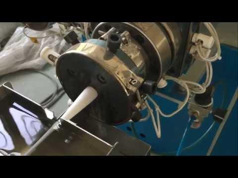 Jiexuan single straw making machine instruction video