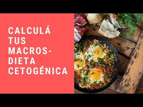 Como calculo los macronutrientes en una dieta cetogenica