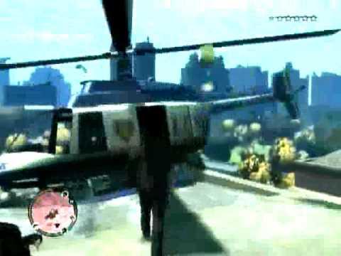 GTA IV How To Get The Police Maverick