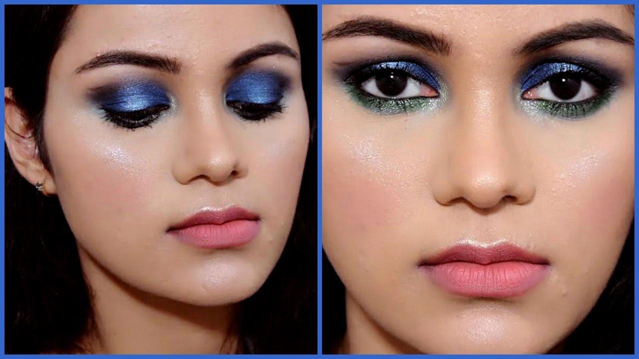 Blue Green Eyeshadow Tutorial