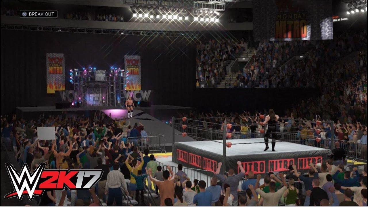 WWE 2K17 - Lex Luger Vs. Brian Adams
