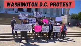 Washington D.C. Protest. Протест у Белого Дома!