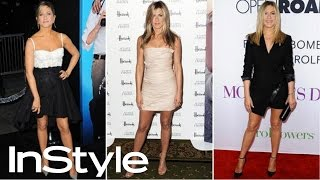How to Get Legs like Jennifer Aniston I InStyle